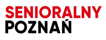 """Logotyp gazety """"Senioralny Poznań"""""""