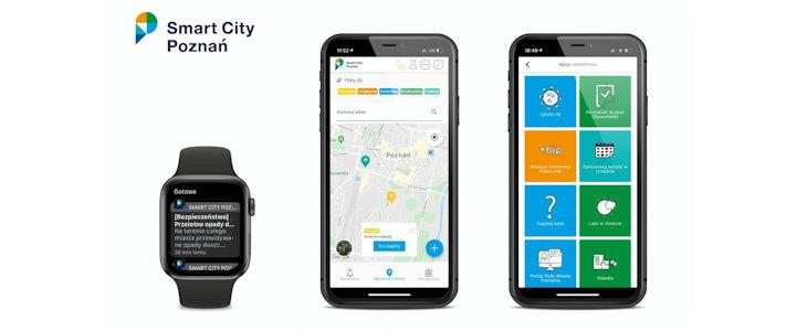 Miejska aplikacja z komunikatami dla seniorów