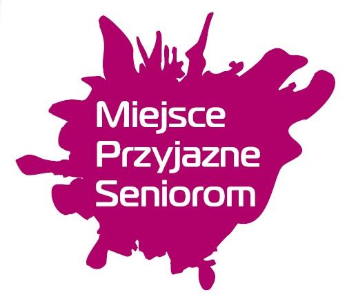 """Logotyp akcji """"Miejsca Przyjazne Seniorom"""""""