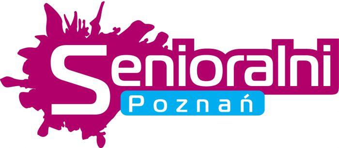 """Logotyp """"Senioralni. Poznań""""."""