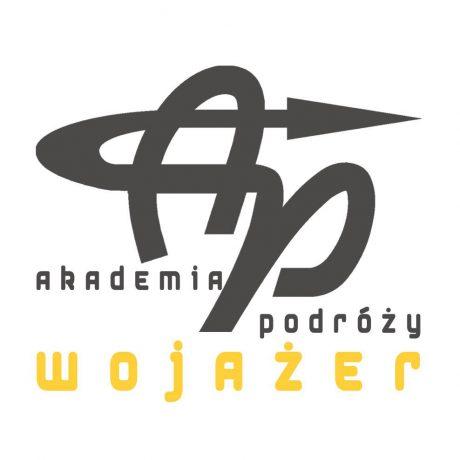 Logotyp Akademii Podróży Wojażer
