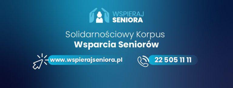 Wspieraj Seniora: pomoc w zrobieniu zakupów i obiady w cenie 5 zł