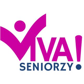Logotyp targów VIVA SENIORZY!