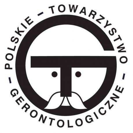 Logotyp Polskiego Towarzystwa Gerontologicznego