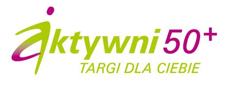Logotyp targów Aktywni 50+