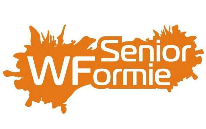 """Logotyp akcji """"Senior W Formie"""""""